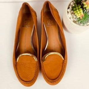 Dolce Vita Brown Suede Loafer Flats